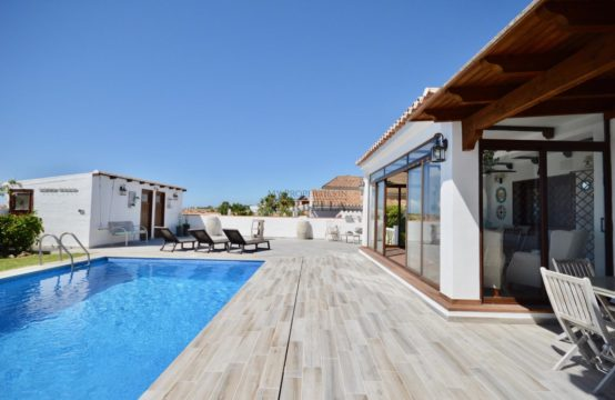 FANTASTIC REFURBISHED 3 BEDROOM VILLA IN A TRANQUIL AREA OF SAN PEDRO TOWN